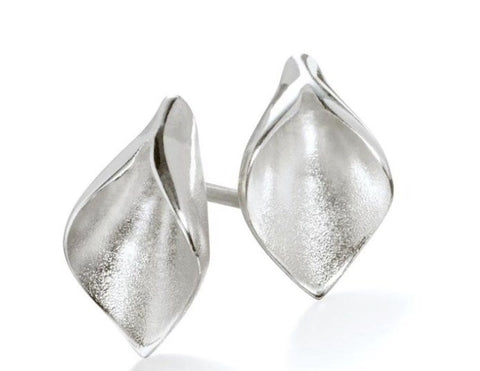 Calla Lilly Tiny Petal Earrings - Collette Waudby - Monkey Puzzle Jewellery