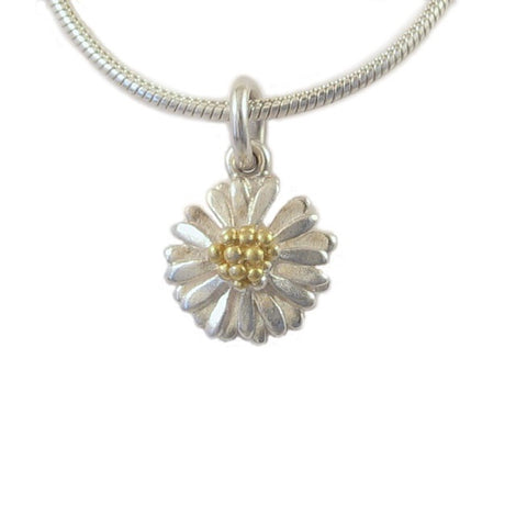 Small Daisy Pendant - McMaster and Tingley - Monkey Puzzle Jewellery
