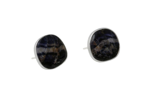 Blue John Stud Earrings