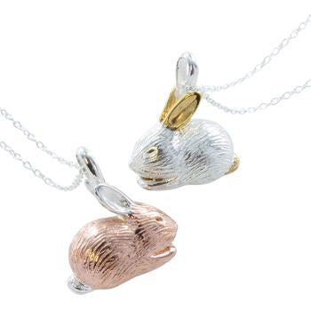 Benjamin Bunny Necklace - Reeves & Reeves - Monkey Puzzle Jewellery - 1