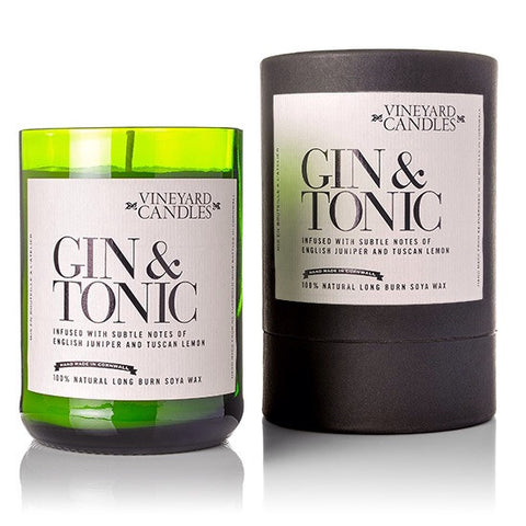 Gin & Tonic Scented Soy Wax Candle