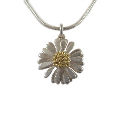 Large Daisy Pendant - McMaster and Tingley - Monkey Puzzle Jewellery