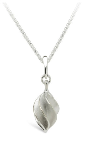 Silver Verso Medium Single Pendant - Collette Waudby - Monkey Puzzle Jewellery
