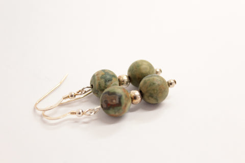 Rhyolite Drop Earrings