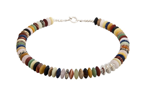 Multi Stone Necklace - Jan Allison - Monkey Puzzle Jewellery