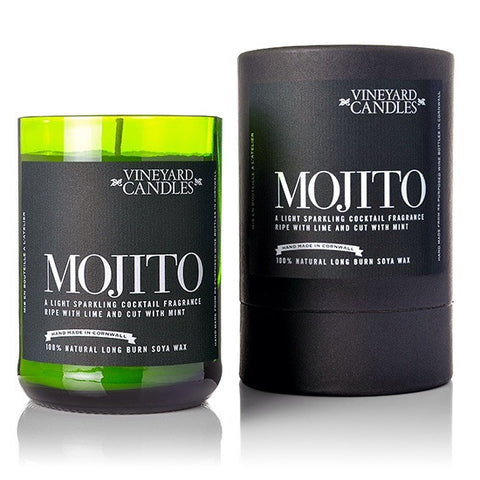 Mojito Scented Soy Wax Candle