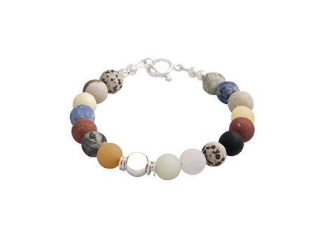 Mixed Stone Bracelet - Reeves & Reeves - Monkey Puzzle Jewellery