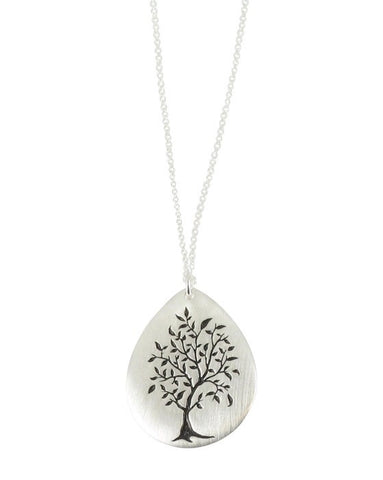 Giving Tree Necklace - Reeves & Reeves - Monkey Puzzle Jewellery - 1