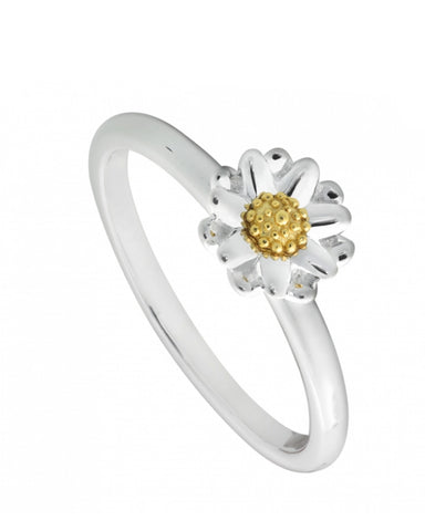 New Daisy Ring- Silver - Daisy - Monkey Puzzle Jewellery
