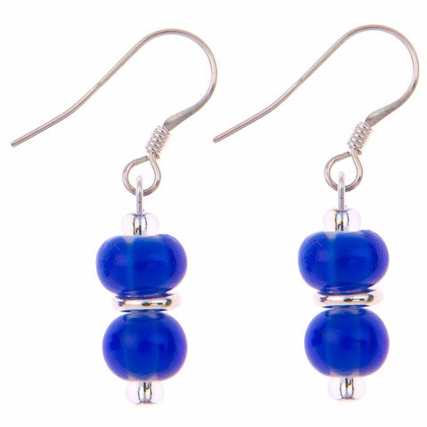 Rainbow Juicy Blue Earrings