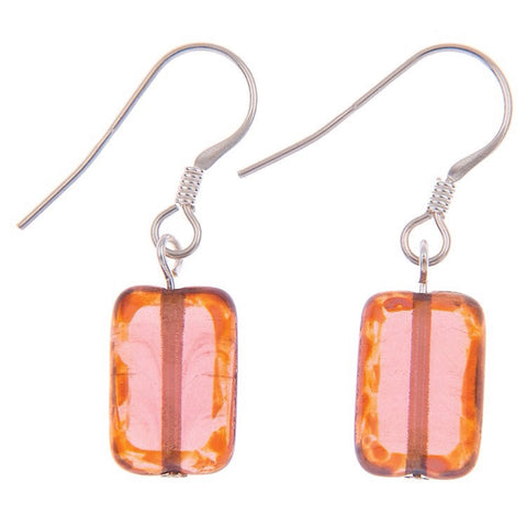Peach Picasso Earrings