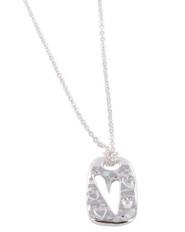 Heart Ingot Necklace - Reeves & Reeves - Monkey Puzzle Jewellery - 1