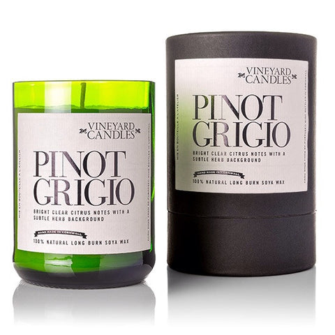 Pinot Grigio Scented Soy Wax Candle
