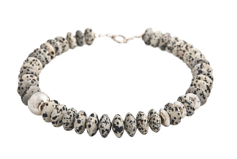 Dalmation Necklace - Jan Allison - Monkey Puzzle Jewellery