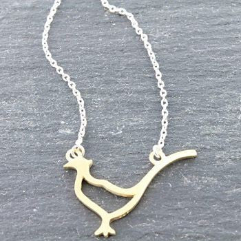 Pheasant Pendant - Reeves and Reeves - Monkey Puzzle Jewellery