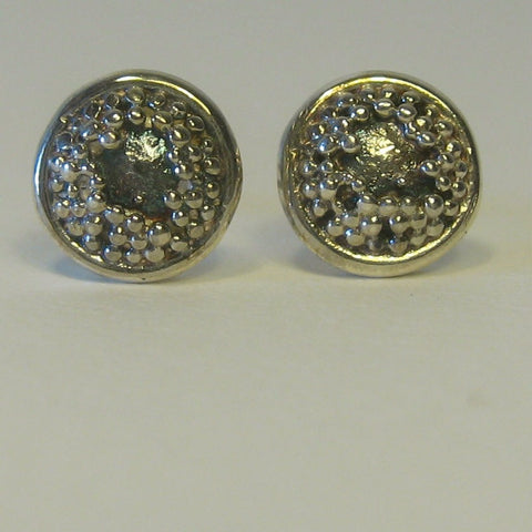 Sunflower Stud Earrings - McMaster and Tingley - Monkey Puzzle Jewellery
