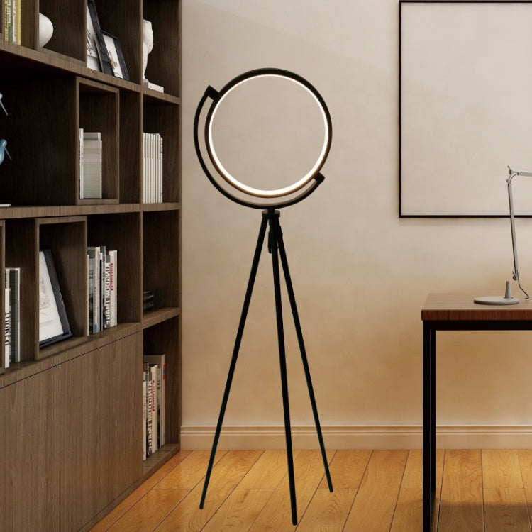 Tripod Halo LED Floor Lamp