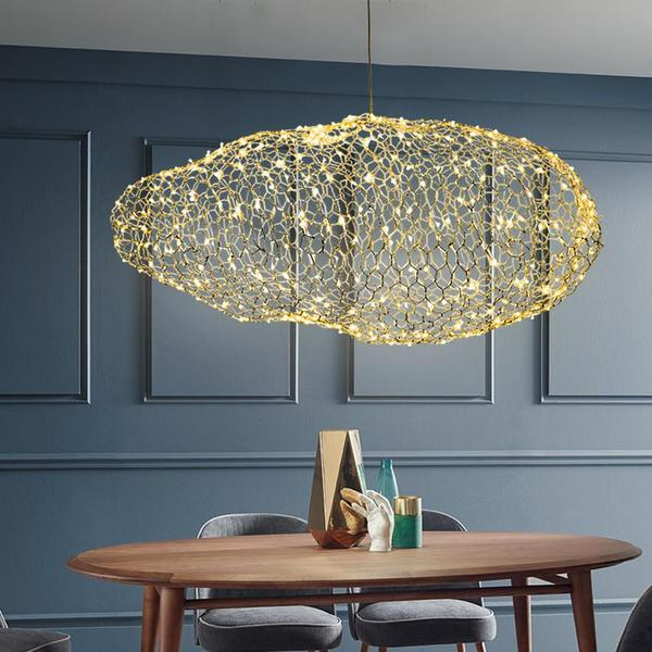 Pilvi - Modern Art Deco Star Light Dotted Cloud Lamps