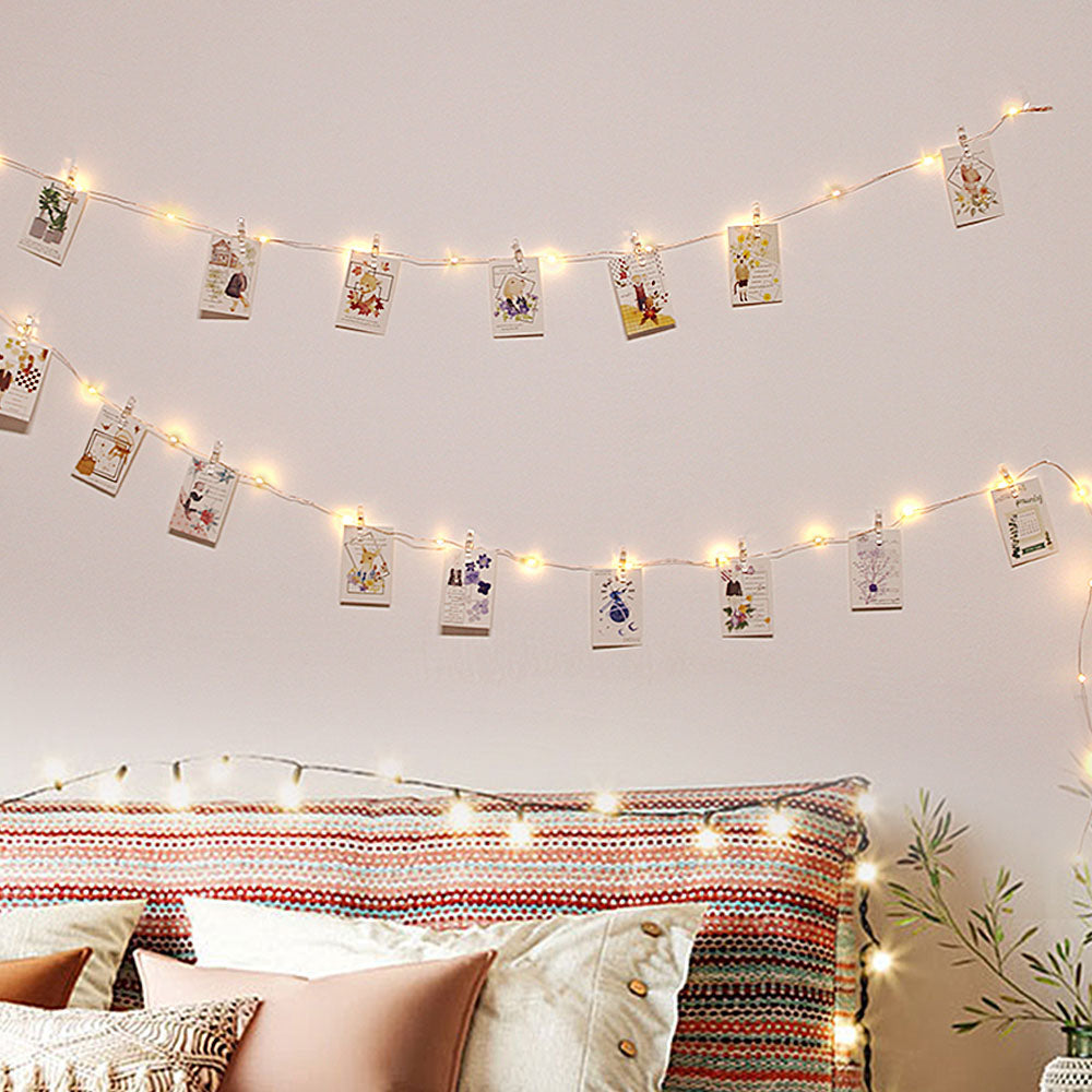 Photo-Clip LED String Lights