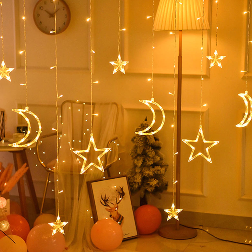 Moon Star LED String Lights