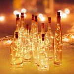 LED Fairy Lights for Glass Bottles (Set of 3)