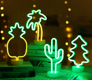 Retro LED Cactus Light
