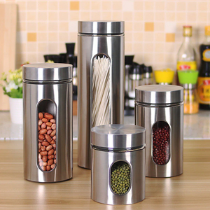 Tera - Stainless Steel Storage Jars