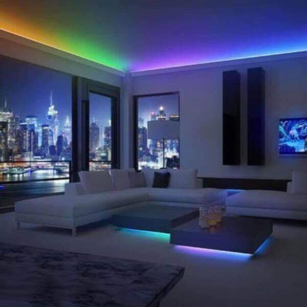 Color Changing LED Light Strip