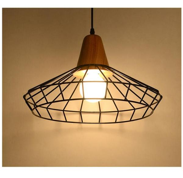 Nordic Iron Hanging Cage Lamp