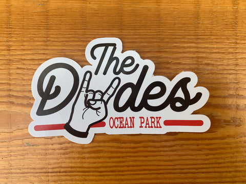 The Dudes Sticker