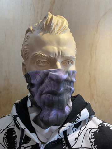 Thanos, Marvel Avengers Washable Face Mask