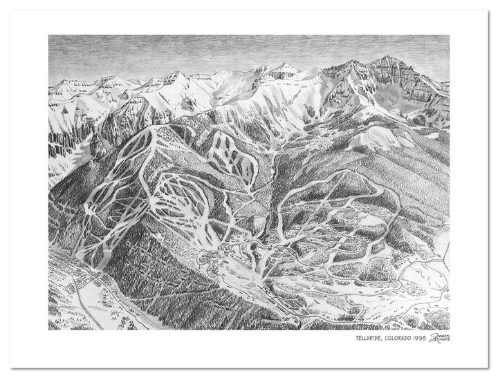 Iconic Mountain Sketches Released