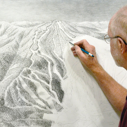 James Niehues Sketching Trail Map