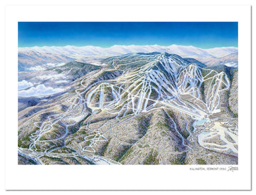 Killington Ski Area | Killington Ski Map | by James Niehues