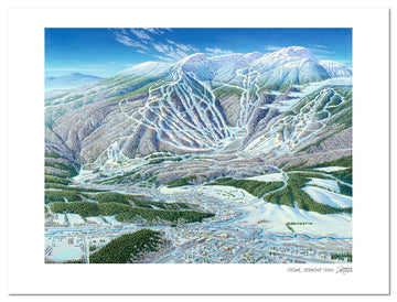 Stowe Ski Area | Stowe Ski Map | by James Niehues