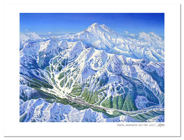 Crystal Mountain (Washington) | Crystal Mountain Ski Map | by James Niehues