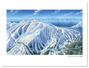 Mt. Rose Ski Tahoe | Mt. Rose Ski Map | by James Niehu