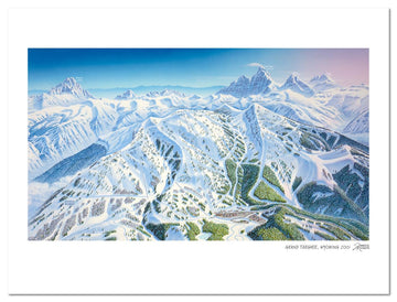 Grand Targhee | Grand Targhee Ski Map | by James Niehues