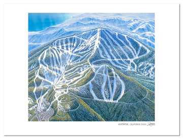 Northstar California | Northstar Ski Map