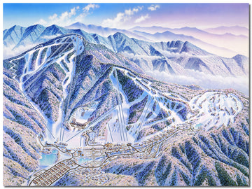 Muju Deogyusan Resort in Seolcheon-myeon, Muju, Jeollabuk-do, South Korea