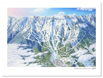 Bridger Bowl Map | Bridger Bowl Ski Area | by James Niehues