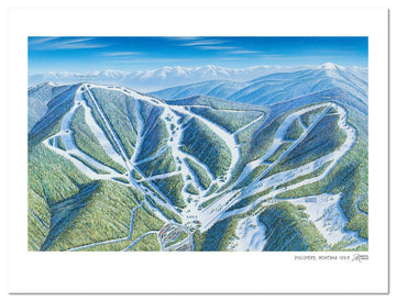 Discovery Ski Area | Discovery Ski Map | James Niehues