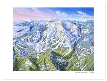 Whitefish Mountain Resort | Whitefish Ski Map | by James Niehues