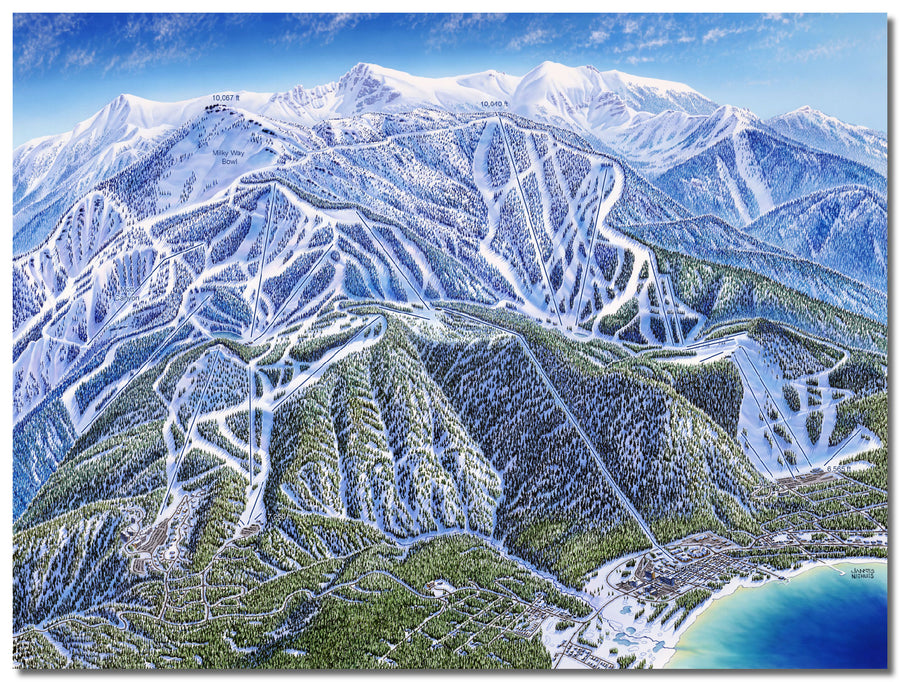 Heavenly Mountain | Heavenly Ski Map | by James Niehues