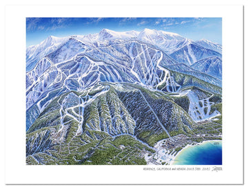 Heavenly Ski Resort Map | Heavenly Ski Map | by James Niehues