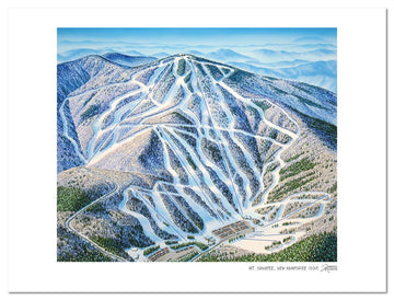 Mt Sunapee Ski Area | Sunapee Ski Map | by James Niehues