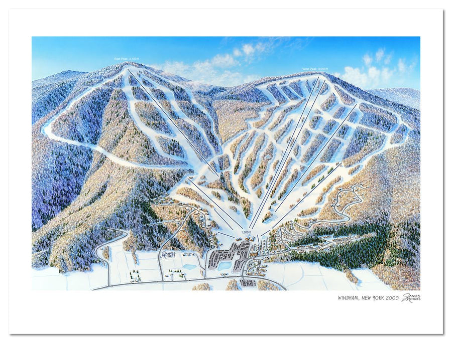 Windham Ski Mountain | Windham Ski Map | by James Niehues