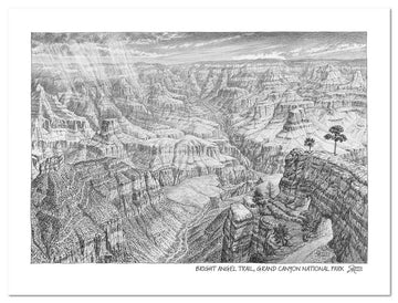 Grand Canyon National Park Sketch
