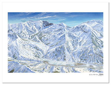 Alta Ski Area | Alta Ski Map | by James Niehues