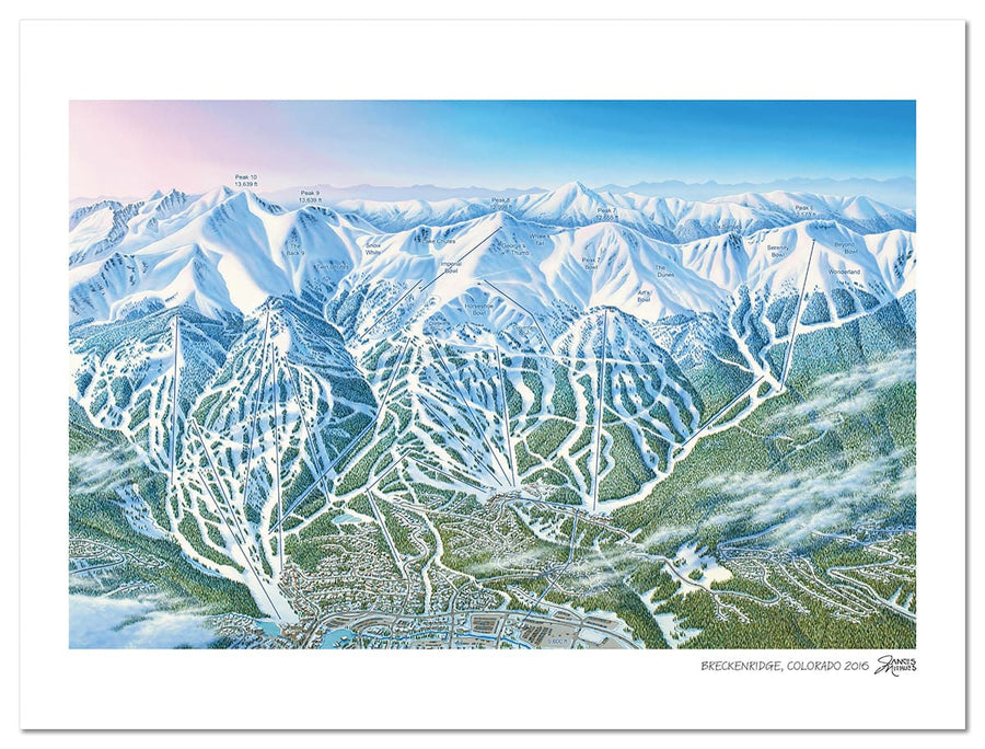 Breckenridge Ski Map | Breckenridge Trail Map | by Jame Niehues